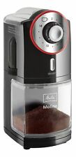 Melitta Molino Electric Coffee Grinder, Flat Grinding Disc Black/Red - 6741433
