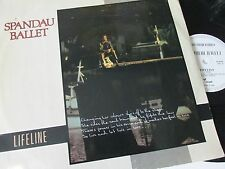 "Spandau Ballet-Lifeline-CHS 12 2642-Vinyl-12""-Single-Record-1980s"