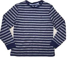 Tommy Hilfiger Mens M Blue Gray Crew Neck Cotton Sweater Striped