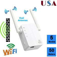 300Mbps Wireless-N Range Extender WiFi Repeater Signal Booster Network Router US