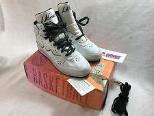 Unworn 1991 Vintage L.A. Gear Shots High Women's Basketball Sneakers Size 8