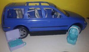 Barbie Happy Family Blue Volvo Vehicle Car SUV Station Wagon w Baby Seats 2003