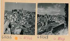 MATERA c. 1950 - 9 Photos de la Ville Carrières Italie - PL 1214