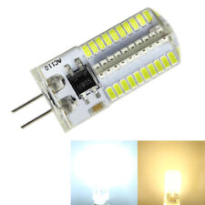 5-10x G4 Bi-Pin T4 80 LEDs SMD 110V/220V 4W Dimmable Light Silicone Crystal Bulb