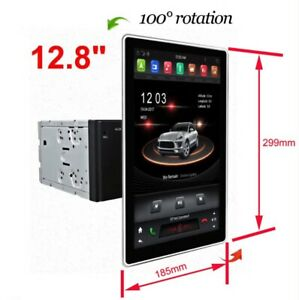 """12.8"""" Car Multimedia Andorid 9 Touch Screen Radio Gps Bluetooth System Six-Cores"""