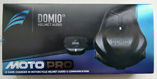 Domio Moto Pro Helmet Audio Motorcycle - Like New
