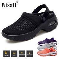NEW Women Sport Air Cushion Sneakers Breathable Mesh Walking Beach Running Shoes