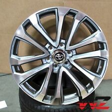 "20"" Platinum Style Gunmetal Machined Wheels Fits Toyota Tundra FJ Cruiser 6x139"