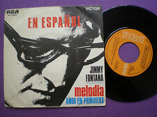 JIMMY FONTANA Melodia IN SPAGNOLO 45 1969