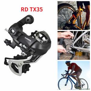 Bicycle Rear Derailleur For Shimano Tourney RD TX35 5/6/7/8 Speed MTB Derailleur