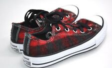Converse All star  Size 12  Girls TARTAN CHUCK TAYLOR - LAST PAIR REDUCED