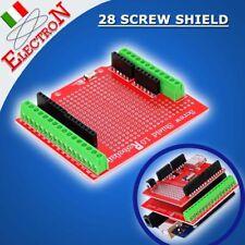Arduino UNO Screw Shield Prototipe Morsettiera Vite Connettori Duemilanove Mega