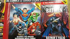 BANDE DESSINÉE DC COMICS GRANDE STORIE DEI SUPER-HÉROS BATMAN ET FILS VOLUME N°1