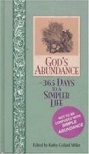God's Abundance: 365 Days to a Simpler Life by Kathy Collard Miller, Good Book