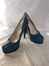 Pour La Victoire Irina Teal Kid Napa, Women's Shoes, Size 9.5M