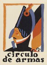Circulo de Armas Fabric, 1916-1924, Edward McKnight Kauffer Reproduction Poster