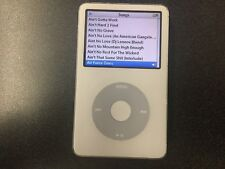 Apple A1136 iPod Classic 5th Gen Generation White 80GB As-Is For Parts or Repair