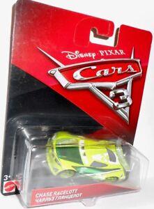 CARS 3 - CHASE RACELOTT -  Disney Pixar Cars auto vehicle Mattel 1:55 scale toy