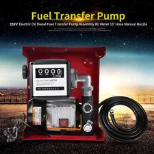 Diesel Pompe De Transfert électrique amorçage Auto Extracteur Bio Fuel Oil 220 V 550 W Kits