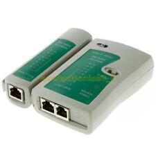 1PCS RJ45 RJ11 Cat5e Cat6 UTP Network Lan USB Cable Tester Data Remote Test Tool