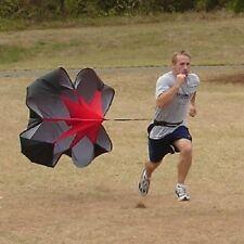 "48"" SPEED CHUTE Parachute Power Running Resistance Training Track & Field"