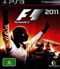 FORMULA 1 - 2011 - PlayStation Game PS3