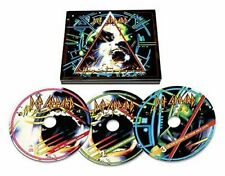 DEF LEPPARD HYSTERIA DELUXE 3 CD EDITION (2017 Remaster) 30th Anniversary