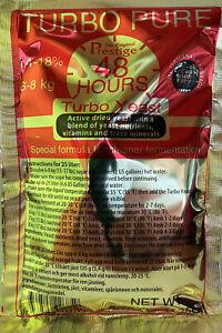 Turbohefe Turbo Pure 48 - Prestige Hefe - Trockenhefe 18% Alkohol Schnapshefe