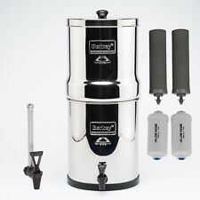 Big Berkey 8.5 L Water Purifier + Fluoride - Free Ship Aust Wide From Melbourne