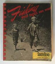 South Bend 1947 Original Fishing Tackle Catalog Rods Reels Lures Hooks