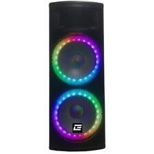 Britelite 6500W Peak Bluetooth  LED  Party Speaker w/ Mic Input, USB, SD