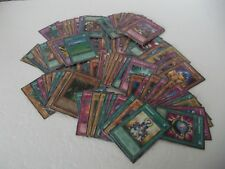 YuGiOh Cards Collection Lot of 102 Some First Editions, Rare, Japanese Mixed
