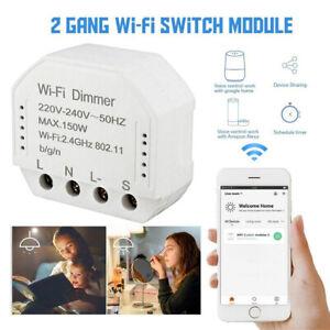 DIY Smart WiFi Light LED Dimmer Switch Smart Life/ Tuya APP Remote Control