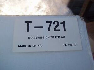 Auto Trans Filter-Kit LUBER-FINER T721