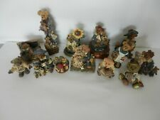 Vintage Lot of 11 Boyds Bear Figurines + 1 Figi Bear (Owen) See List