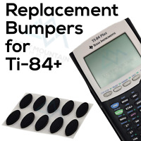 Set of 10 Replacement Rubber Grips Feet Bumpers for Ti-84 Plus Calculator
