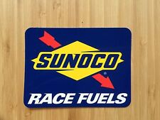 SUNOCO RACE FUELS LARGE OFFICIAL STICKER - OFFICIAL FUEL OF NASCAR - BRAND NEW