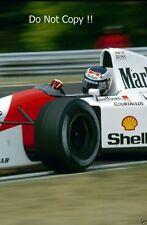 Gerhard Berger McLaren MP4/7A F1 Stagione 1992 foto 3