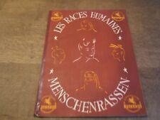 album chocolat jacques LES RACES HUMAINES  1947