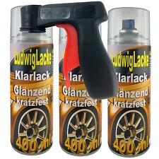 Klarlack kratzfest 3 Spray Glänzend 400ml Made Germany Rostschutz &Haltegriff