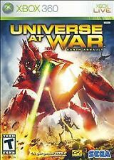 Universe at War: Earth Assault (Microsoft Xbox 360, 2008)