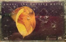 BRAND NEW Swans The Burning World Cassette Tape 1st Issue Indie Alt Rock RARE