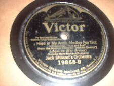 78RPM Victor 19868 Jack Shilkret, Rodgers & Hart, Here in My Arms/G Olsen, Mi V-