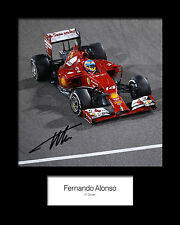 FERNANDO ALONSO #3 Signed Photo Print 10x8 Mounted Photo Print - FREE DELIVERY