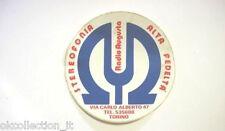 ADESIVO RADIO anni '80 / Old Sticker RADIO AUGUSTA TORINO (cm 9,5)