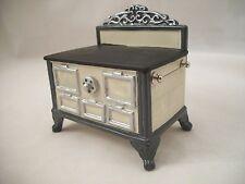 Stove - White Porcelain   1.843/0 miniature dollhouse furniture metal 1/12 scale
