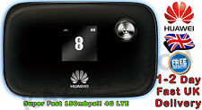 HUAWEI E5776 UNLOCKED BLACK LTE 4G & 3G Mobile MIFI WIFI Wireless Modem SimFree