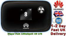 Huawei E5776 Desbloqueado Negro Lte 4G & 3G Móvil MIFI WIFI WIRELESS módem celular