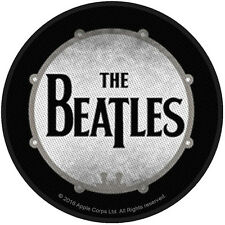 THE BEATLES - DRUM ( BRAND NEW 9cm SEW-ON PATCH )