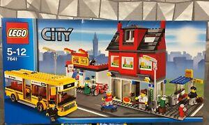 LEGO® City 7641 Stadtviertel mit Bus - neu+OVP